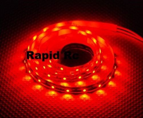 High Density R/C LED Flexible Strip-Red 1 meter